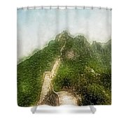 Great Wall 0033 - Traveling Pigments Sl Shower Curtain