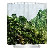 Great Wall 0043 - Pastel Pencils Hp Shower Curtain
