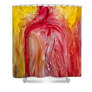 Greatness Charisma And Leadership Shower Curtain