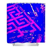 Greco-celtic Relic Shower Curtain