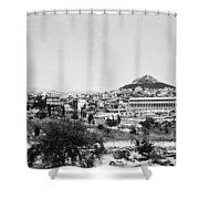 Greece Athens Agora Shower Curtain