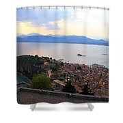 Greece-nafplio Castle Shower Curtain