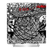 Greed Is A Human Issue Shower Curtain