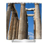 Greek Ruins Shower Curtain