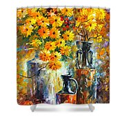Greek Vases Shower Curtain