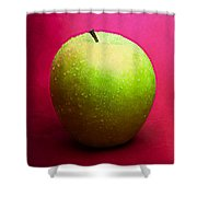 Green Apple Whole 2 Shower Curtain