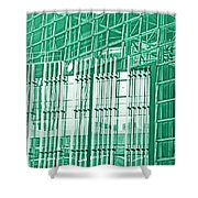 Green Business Shower Curtain