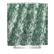 Green Cornfield Shower Curtain