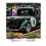 Green Dream Ford Shower Curtain