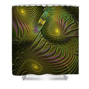 Green Envy Shower Curtain