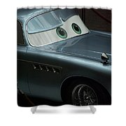 Green Eyed Finn Mcmissile Shower Curtain by Thomas Woolworth