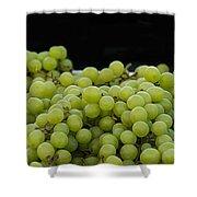 Green Green Grapes Shower Curtain