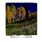Green Hills Of Earth Shower Curtain