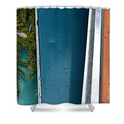 Green Intervention  Shower Curtain