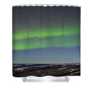 Green Lady Dancing 10 Shower Curtain