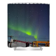 Green Lady Dancing 26 Shower Curtain