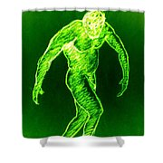 Green Man Arises Shower Curtain