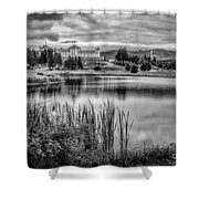 Green Of Hole 3 Mt Pleasant Course Shower Curtain