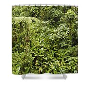 Green On Green Shower Curtain