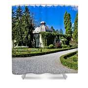 Green Park In Daruvar With Old Thremae Shower Curtain