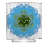 Green Planet Shower Curtain