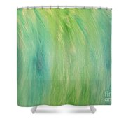 Green Shades Shower Curtain
