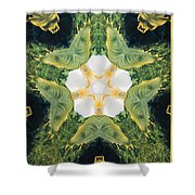 Green Thing Shower Curtain