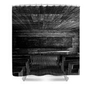 Greenbrier School Circa 1882 Shower Curtain by David Lee Thompson
