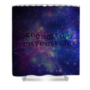 Greener Side Dispensary In Space Shower Curtain