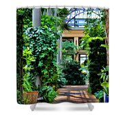 Greenery Shower Curtain