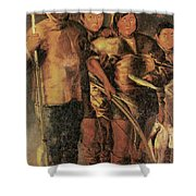 Greenlanders, 1654 Shower Curtain