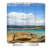 Greens Pool - Western Australia 2am-112587 Shower Curtain