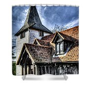 Greensted Church Ongar Shower Curtain
