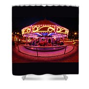 Greenway Carousel - Boston Shower Curtain
