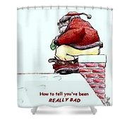 Greeting Card-2 Shower Curtain