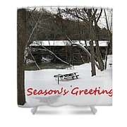 Greeting Card-3 Shower Curtain