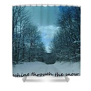 Greeting Card-4 Shower Curtain