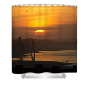 Greeting The Sunrise Shower Curtain