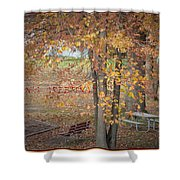 Greetings Of Nature Shower Curtain