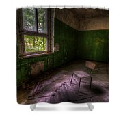 Green Room Shower Curtain