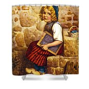 Gretel Brothers Grimm Shower Curtain