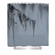Grey Beard Shower Curtain