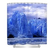 Grey Glacier Patagonia Chile Shower Curtain