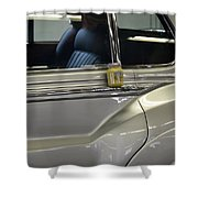 Grey Poupon And Rolls Royce Shower Curtain