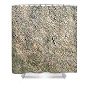 Grey Rock Texture Shower Curtain