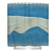 Greyhound II Shower Curtain