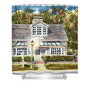 Greystone Inn II Shower Curtain