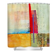 Grid 3 Shower Curtain