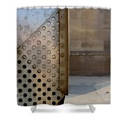 Grid And Block 1 Shower Curtain