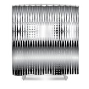 Grid Trap 2 Shower Curtain